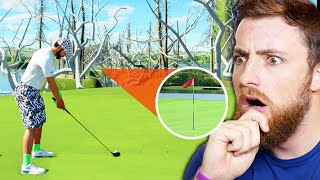 THE IMPOSSIBLE GOLF COURSE! PGA TOUR 2K21 Gameplay
