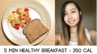 5 Min Healthy Breakfast For Clean Eating!