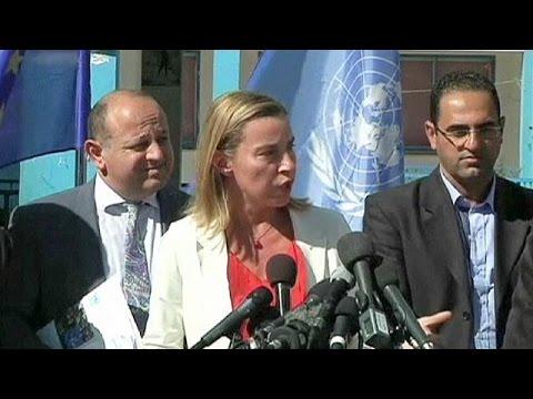 La chef de la diplomatie européenne plaide pour un Etat palestinien sur fond de tensions