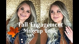 Fall Engagement Makeup Tutorial