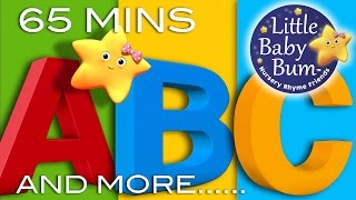 ABC Alphabet Songs | And More ABC Songs! | Learning Songs Compilation from LittleBabyBum!