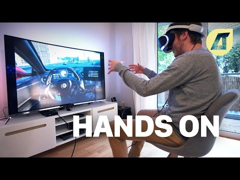 PlayStation VR: Anschließen & Erster Test - Deutsch