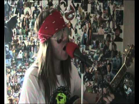 Knocking On Heavens Door (Guns N Roses) Acoustic Cover By Axl77 Gareth Rhodes