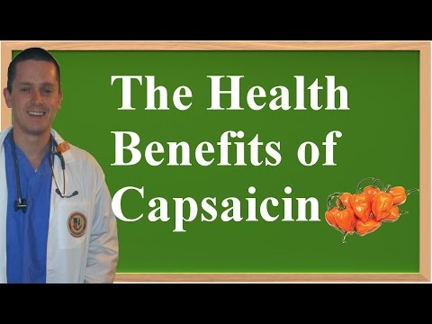 Video The Health Benefits of Capsaicin (Cayenne Pepper)