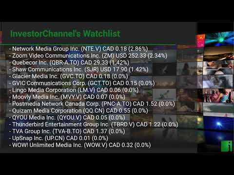 InvestorChannel's Media Watchlist Update for Monday, July  ... Thumbnail