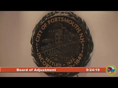 Board of Adjustment 9.24.2019