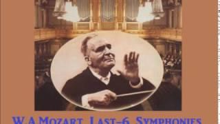 W.A.Mozart Last-6 Symphonies [ B.Walter Columbia-SO ] (1959~60)