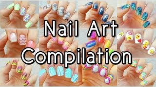 Nail Art Tutorials Compilation #4