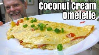 Coconut Cream Omelette Recipe