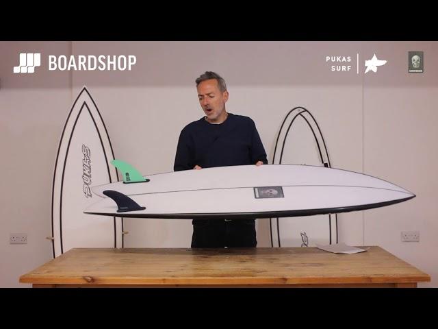 Pukas x Christenson Pegaso Surfboard Review
