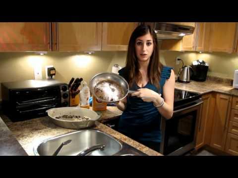 Συμβουλές για να καθαρίσετε καμένα μαγειρικά σκεύη
