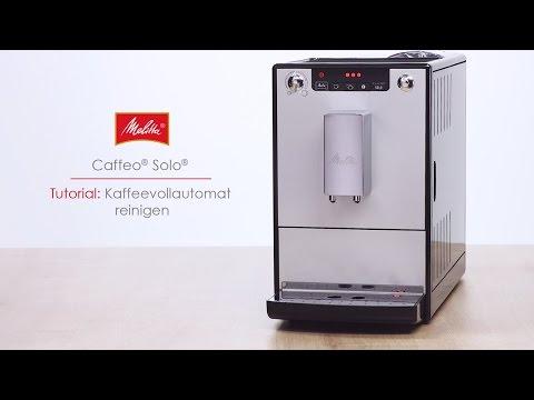 Melitta® Solo® - Tutorial Kaffeevollautomat reinigen