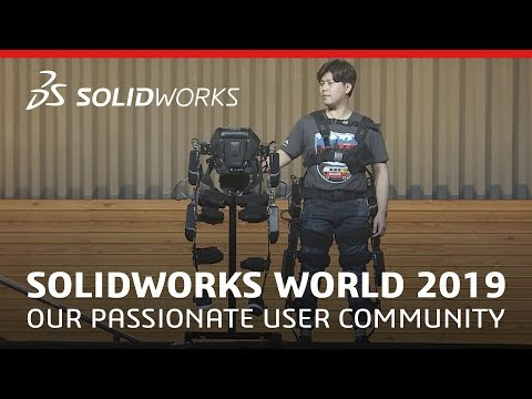 SOLIDWORKS World 2019 - Our Passionate User Community