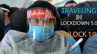 Travelling From Hyderabad To Kolkata During Lockdown By Air Asia | Airport New Rules | Is It Safe ??