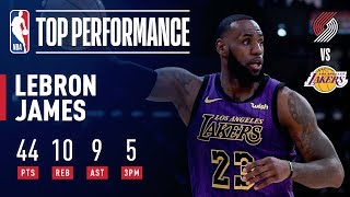 LeBron James DROPS 44 & Passes Wilt Chamberlain On All-Time Scoring List | November 14, 2018