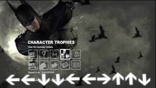 Batman: Arkham City - How to Use Batsuits in Main Story (Cheat Code)