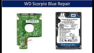 WD Scorpio Blue  repair data recovery  WD6400BEVT WD6400BPVT WD7500BPVT WD10TPVT  771672