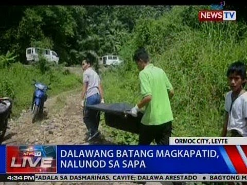 [GMA]  NTVL: 2 batang magkapatid, nalunod sa sapa sa Ormoc City, Leyte