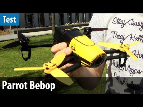 Parrot Bebop Drone im Praxis-Test | deutsch / german
