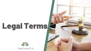 Who is called a Plaintiff/Defendant/Petitioner/Respondent -Legal Lotus, Miami Trial & Family Lawyers