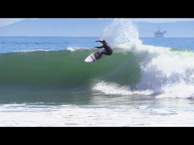 Shipwreck Reef Surfing Raw   Santa Barbara, CA