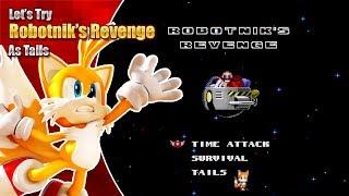 Let's Try Robotnik's Revenge as Tails