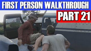 GTA 5 First Person Gameplay Walkthrough Part 21 - SMOOTH LANDING! | GTA 5 First Person