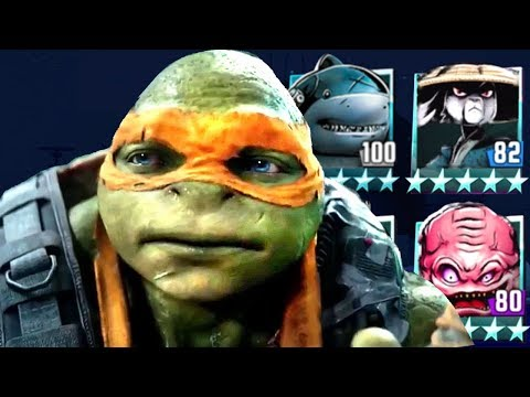 TMNT PVP with Commentary - Part 3 - All characters Unlocked and Favorite new Characters