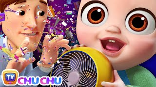 NEW Johny Johny Yes Papa Song - Confetti & Chocolate Wrappers - ChuChu TV Nursery Rhymes For Kids