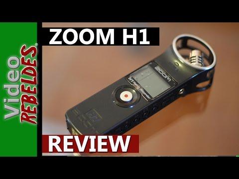 Zoom H1:Grabador de audio portátil.Revisión