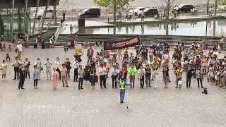 【大阪】通行人がおもむろに・・・。グランフロントで行われたフラッシュモブ