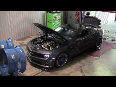 Hennessey Twin Turbo HPE1000 Camaro Dyno Test