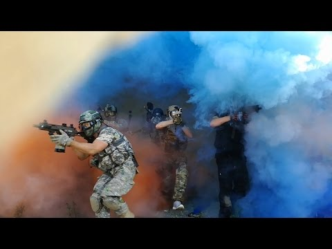 Lets Play Paintball #03 Schild-Aktion - Rozvadov 24.09.2016