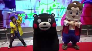 くまモン、JR博多駅での熊本観光PRイベント・1回目ほぼフル収録