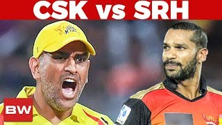Will DHONI get his COOL Back ? | CSK Vs SRH