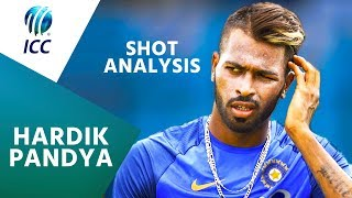 Hardik Pandya Analyses THAT Shot Against Pakistan! | ICC Player Feature