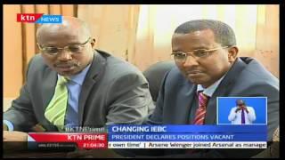 KTN Prime: President Uhuru Kenyatta declares the IEBC Commissioners seats vacant, 6/10/16