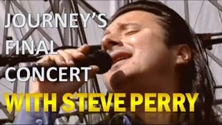 The Truth About Journey's Final Concert with Steve Perry