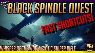 Destiny 2   Black Spindle Secret Quest- Complete Guide & Easy Jumping Puzzle Shortcuts!