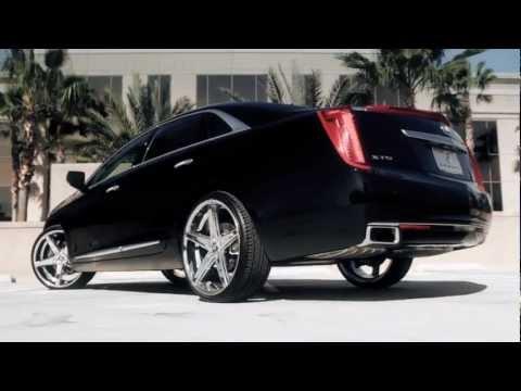 """Cadillac XTS 20"""" R-Four Lexani Black Series Wheels"""