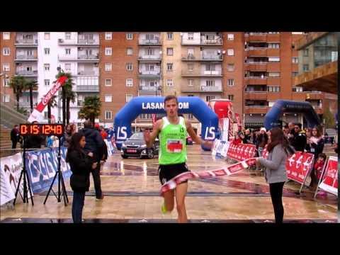 Vídeo Arribada del primer corredor de 5km