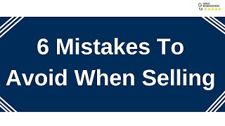Avoid 6 Mistakes When Selling Your Home | Dwight Streu, Edmonton Real Estate Agent, MaxWell Polaris