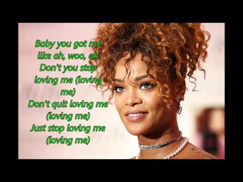 Rihanna – Love on the Brain (Lyrics) - COVER
