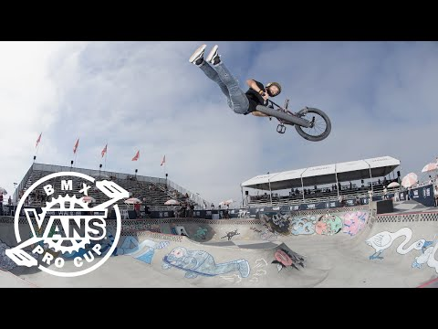 Larry Edgar's Second Place Run | BMX Pro Cup | VANS