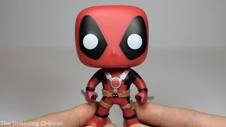 POP: Deadpool (with Swords) Unboxing and Detail