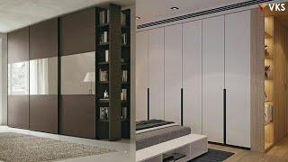 Modern Wardrobe Cupboard Interior Design   Bedroom Wardrobe Collections 2020  Cupboard Closet Kit