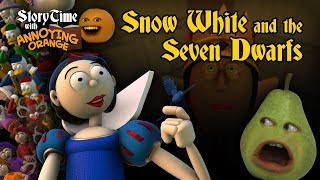 Annoying Orange - Storytime #4: Snow White and the 7 Dwarfs
