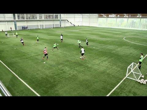 entrainement individuel football attaquant