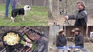 Cowboy Steak Scalloped Potatoes & Training Murphy the Border Collie(Episode #549)