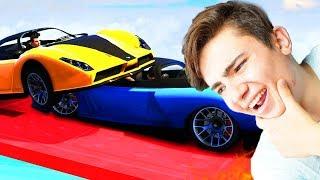 GTA 5 Online - GÖKYÜZÜNDE İMKANSIZ SUMO SAVAŞI !